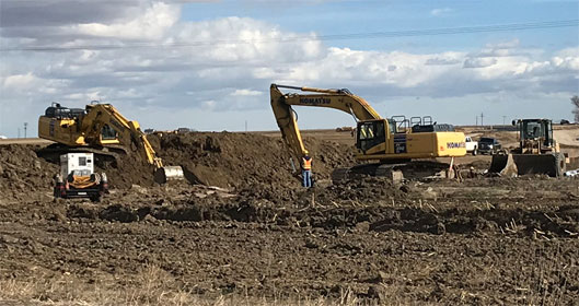 Severance High School Site – Construction Underway