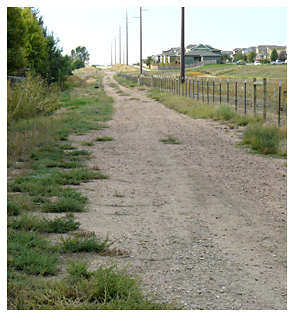 Photo of the Great Western Trail near Severance, Colorado