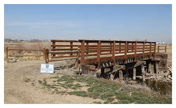 Trestle Bridge across the Greeley Canal